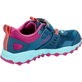 saucony S-Peregrine 10 Shield A/C Chaussures Fille, navy/purple/turquoise